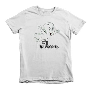 Casper The Friendly Ghost Kids T-Shirt