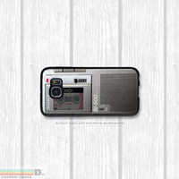 Micro Cassette Recorder , Custom Phone Case for Galaxy S4, S5, S6