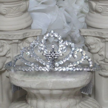 First Communion - Baptism Hair Accessories - Communion - First Holy Communion - Girls Communion - Communion Gifts - Baptism Gifts