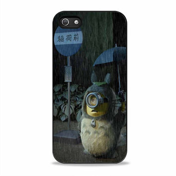 minion totoro despicable Iphone 5S Cases