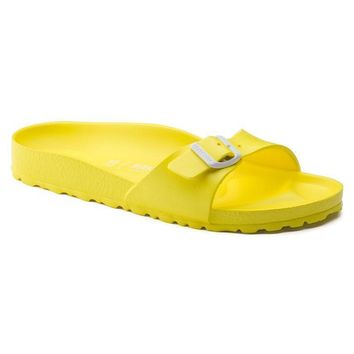 Best Online Sale Birkenstock Madrid Essentials Eva Neon Yellow 128313 Sandals