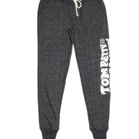 Into The Great Wide Open Sweatpants - Vintage Black