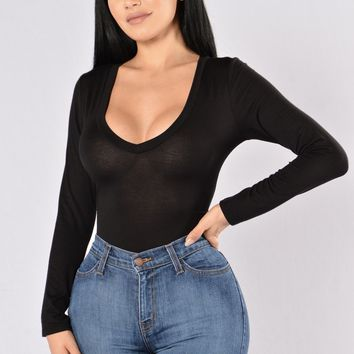 Voted Most Popular Bodysuit - Black