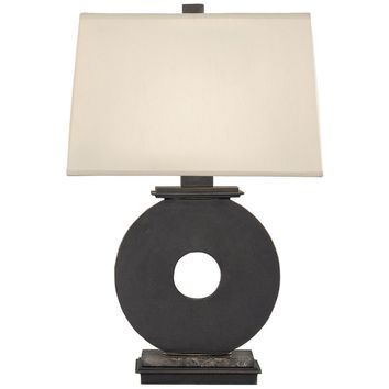 Robert Abbey Tic-Tac-Toe Table Lamp