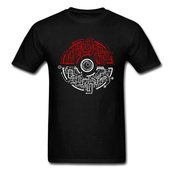 Electric Ball Tops Me  T Shirt Summer Black Tshirt Pocket Monster Tees 90s Anime Clothing Geek Chic T-shirtKawaii Pokemon go  AT_89_9