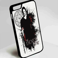 Sam Wichester Supernatural iPhone 4, 4s, 5, 5s, 5c, 6, 6plus, 7 Case