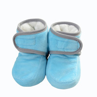 New Baby Boots Winter Plus Velvet Boots Non-Slip Shoes For Boys&Girls Cotton Warm Baby Shoes Fashion Baby Boots Free Shipping