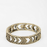 Cutout Arrows Stretch Bracelet - Urban Outfitters