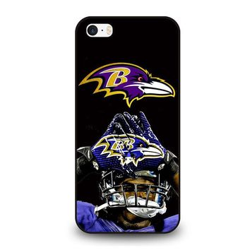 BALTIMORE RAVENS FOOTBALL iPhone SE Case Cover