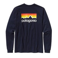 Men's Long Sleeve T-Shirts by Patagonia