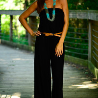 Part Of Me Jumpsuit, Black