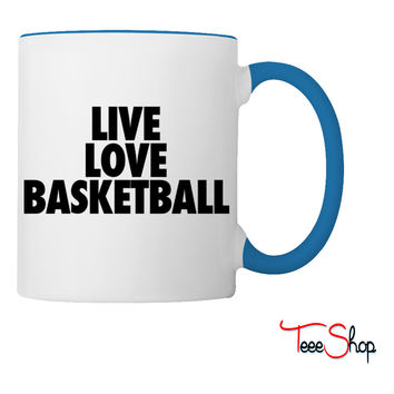 Live Love Basketball basketball Coffee & Tea Mug
