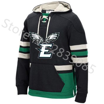 Philadelphia Winter Eagles Fans Hoodie, New Designs E&Eagles Picture Stitched Sweatshirt, Custom Any Name/Number Hoodie Pullover