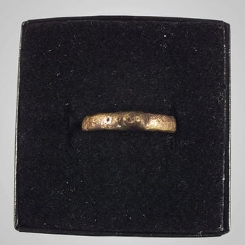Woman's Ancient Roman Wedding Ring C.100-300A.D. Size 7 1/4  (17.3mm)(brr549)