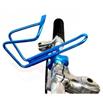 New Durable Aluminum Alloy Bike Bicycle Cycling Drink Water Bottle Rack Holder Cage Bicycle Accessories #E0