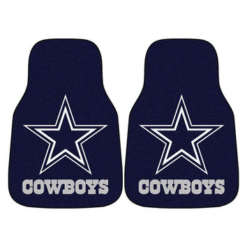 Dallas Cowboys NFL Car Floor Mats (2 Front)