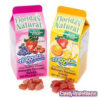 Florida's Natural Fruit Juice Nuggets Cartons: 12-Piece Display | CandyWarehouse.com Online Candy Store