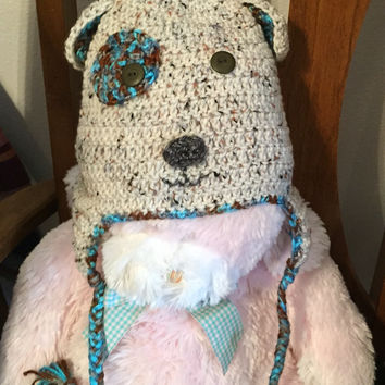Hand-crafted Puppy Crocheted Animal Hat