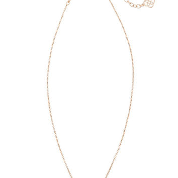 KENDRA SCOTT - Elisa Pendant Necklace In Peach Illusion