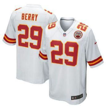PEAP1N Nike Chiefs #29 Eric Berry White Men's Stitched NFL Elite Jersey