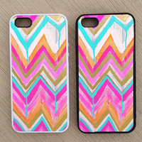 Cute Abstract Chevron iPhone Case, iPhone 5 Case, iPhone 4S Case, iPhone 4 Case - SKU: 179