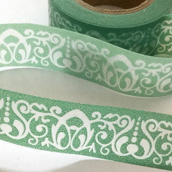 Washi Tape | Decorative Masking Sticky Tape | Japan Adhesive Tape | Scrapbooking Tools Favor Stationery | Swirl 10m L12