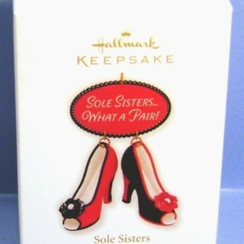 2010 Sole Sisters Hallmark Retired Ornament