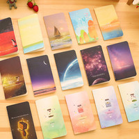 Mini Cute Kawaii Journal Diary Notebook With Lined Paper Vintage Retro Notepad Book for Kids Korean Stationery Free shipping 001