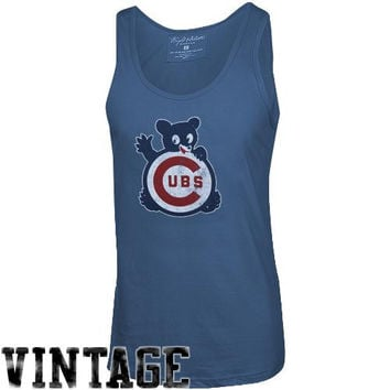 Chicago Cubs AC Tank Top - Royal Blue