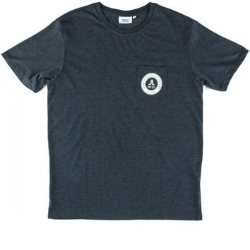 WeSC Icon Circle Mini T-Shirt - Navy Blazer