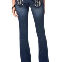 Miss Me Embellished Big M Boot Cut Jeans