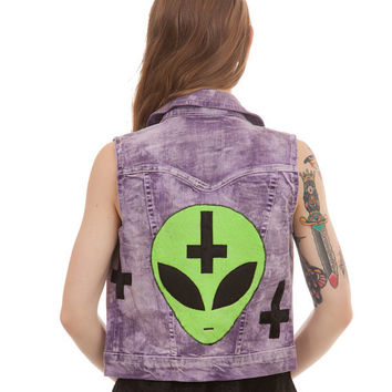 Aliens Did It Vest