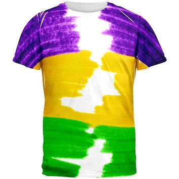 Mardi Gras Color Me Cajun All Over Mens T Shirt