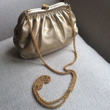 Chanel Vintage lambskin cross body bag