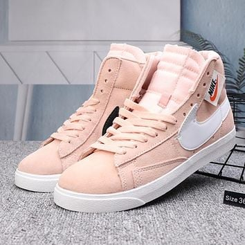 Nike Blazer Woman Men Fashion High-Top Sneakers Sport Shoes