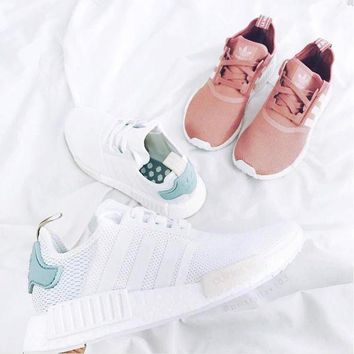 DCCKIJG Women 'Adidas' NMD Boost Casual Sports Shoes Sneaker