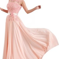Long Formal Evening Prom Party Dress Bridesmaid Dresses Ball Gown