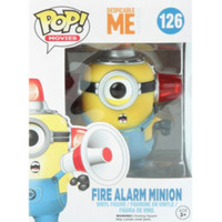 Funko Despicable Me Pop! Fire Alarm Minion Vinyl Figure
