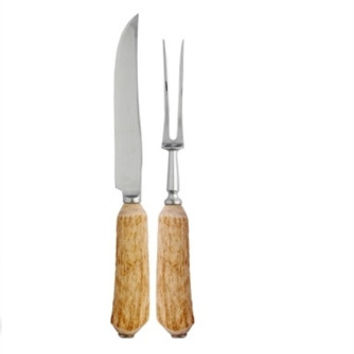 Natural Antler Carving Set