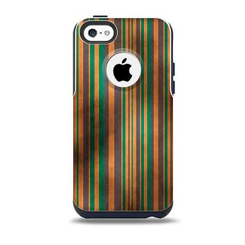 Dark Smudged Vertical Stripes Skin for the iPhone 5c OtterBox Commuter Case