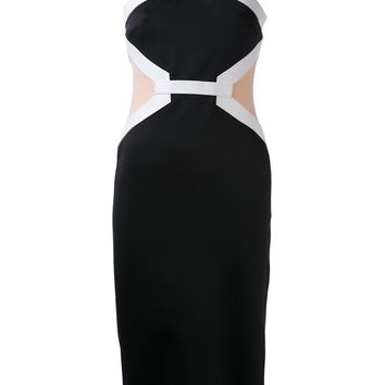 David Koma Criss Cross Dress