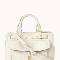 Signature Faux Leather Carryall