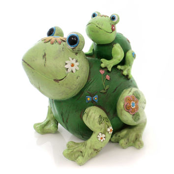 Home & Garden Soul Whispers Frogs Statue Statue