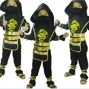Halloween Children cosplay clothes costume clothes Ninja Turtles roll play clothes