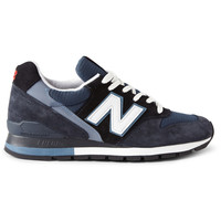 New Balance996 Suede and Mesh Sneakers MR PORTER