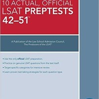 The 10 Actual, Official LSAT PrepTests 42-51