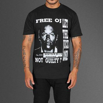 Free Oj Simpson T Shirt As Worn By Kanye West