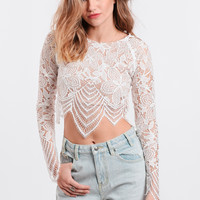Guava Crop Top By For Love & Lemons