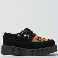 T.U.K. The Creeper Shoe in Black Suede and Leopard Cow Hair : Karmaloop.com - Global Concrete Culture
