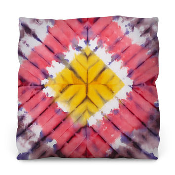 To the Festival we Go Throw Pillow